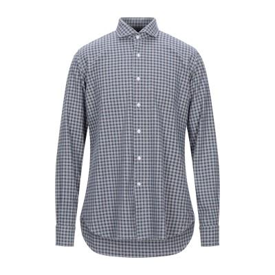 ORIAN シャツ グレー 40 コットン 100% シャツ