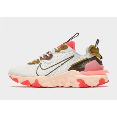 ナイキ Nike レディース スニーカー シューズ・靴 react vision white