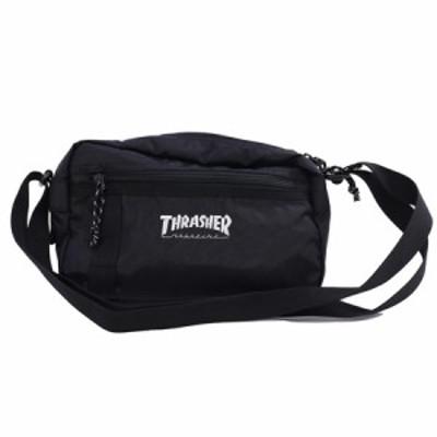 THRASHER スラッシャー ショルダーポーチ [カラー:ブラック×ホワイト] #THR-141-9001 スポーツ・アウトドア Shoulder Pouch