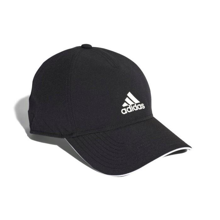 ADIDAS 男女款 CLIMALITE CAP 棒球帽-運動 休閒-可調節 老帽-黑色-CG1781