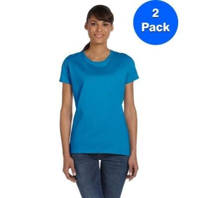 レディース 衣類 トップス Fruit of the Loom Womens HD T-Shirt L3930R (2 PACK) Tシャツ