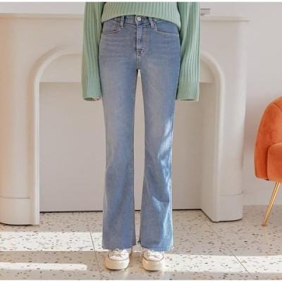 common unique レディース ジーンズ Denim Bootcut Pants