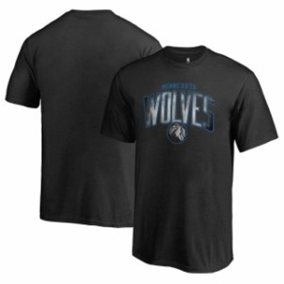 Fanatics Branded ファナティクス ブランド スポーツ用品  Fanatics Branded Minnesota Timberwolves Youth Black Arch