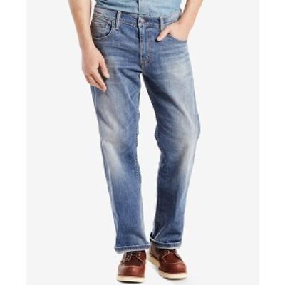 リーバイス メンズ デニムパンツ ボトムス Men's 569 Loose Straight Fit Jeans Tanager Stretch - Waterless