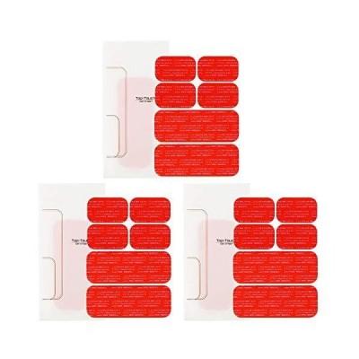 Top Touch シックス 互換 パッド 腹筋 ベルト 対応 互換 高電導 ジェルシート アブズ 腹筋 ベルト 対応 日本製 ジェル 採用
