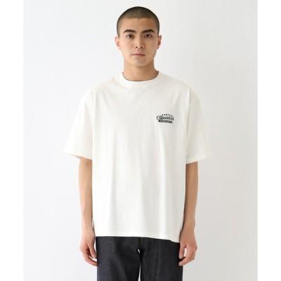 BASE CONTROL(ベースコントロール)ボトル カクテルデザイン刺繍 半袖Tシャツ