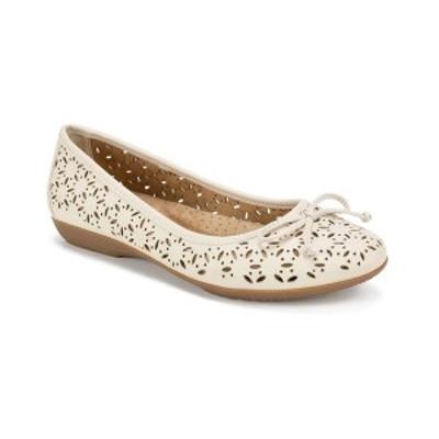 クリフバイホワイトマウンテン レディース サンダル シューズ Women's Cate Ballet Flat White