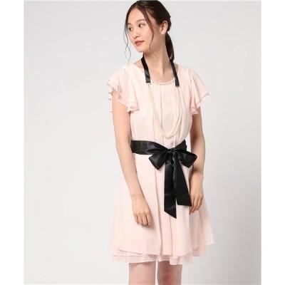 ドレス 3Wayラインドレス 結婚式/二次会/お呼ばれワンピース