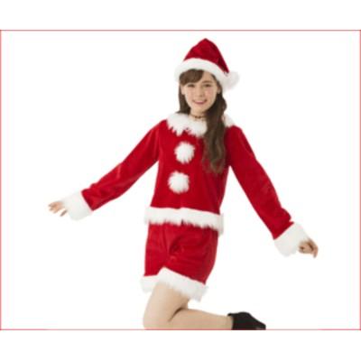 【レディ】ホットパンツサンタ【サンタ】【クリスマス】【仮装】【衣装】【コスプレ】【コスチューム】【サンタクロース】【パーティ】・