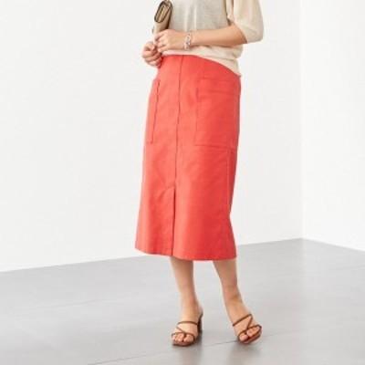 エメル リファインズ(EMMEL REFINES)/〔ハンドウォッシャブル〕FC HW TC/LI サイドポケット スカート