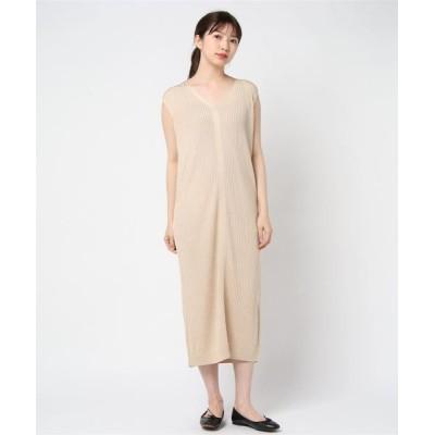 ドレス Bright rayon sleevless longdress