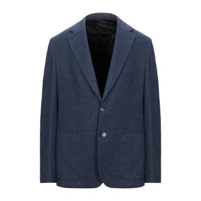 イレブンティ ELEVENTY テーラードジャケット ブルー 54 ウール 52% / コットン 48% テーラードジャケット