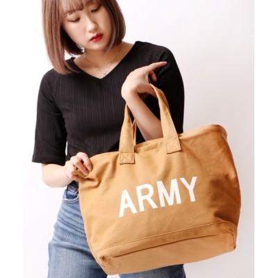 FUNALIVE / 【Ree&Mee】ARMY バケツ型 ランドリーバッグ WOMEN バッグ > トートバッグ