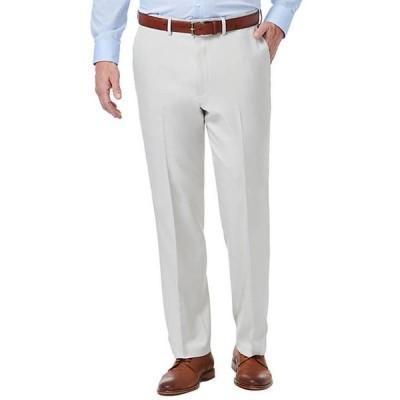 ハガー メンズ カジュアルパンツ ボトムス Premium Comfort Fit Flat Front Dress Pants