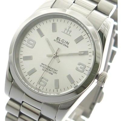 エルジン ELGIN 腕時計 メンズ FK1421S-S 10YEARS クォーツ シルバー