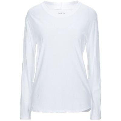 ZUCCA T シャツ ホワイト L コットン 100% T シャツ