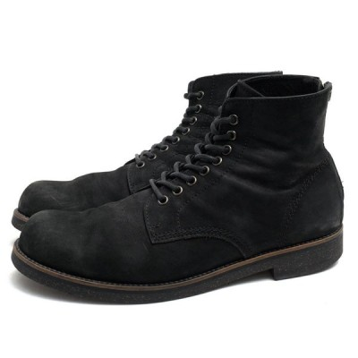 PADRONE パドローネ バックジップブーツ LACE UP BOOTS with BACK ZIP ANTONIO アントニオ ヌバック