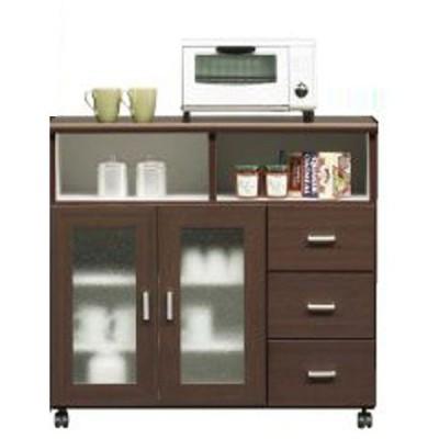 スコール キッチンカウンター 90cm幅 カラー対応2色 開梱設置