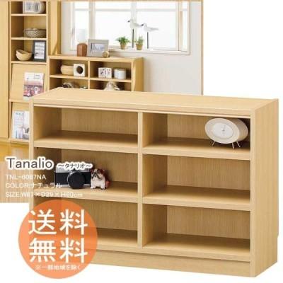 本棚 文庫本ラック 収納ボックス タナリオ 組立て家具 高さ60cm