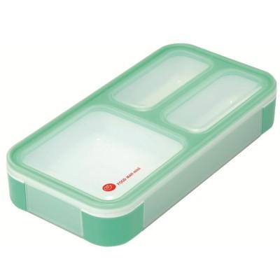 薄型弁当箱 フードマン ミニ ミントグリーン 4571347175035 dsk.pig シービージャパン CB JAPAN CP