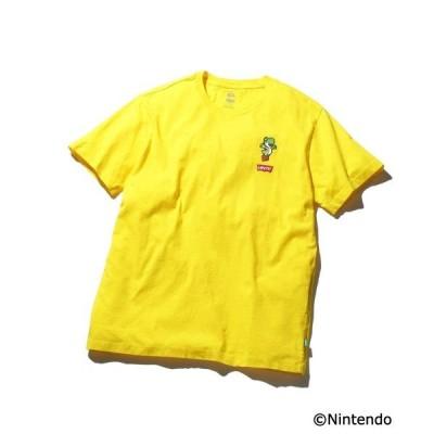 tシャツ Tシャツ LEVI'S(R) X SUPER MARIO(TM) グラフィッククルーネックTシャツ YOSHI LC PATCH T2 YE