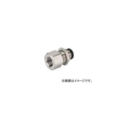 日本ピスコ/PISCO チューブフィッティング メス隔壁ストレート PMF601(2908760)