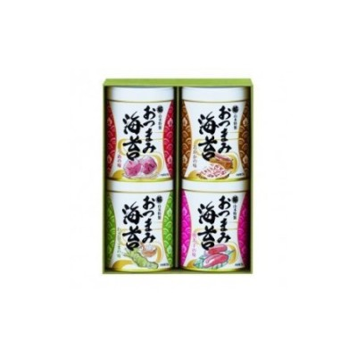 009-15おつまみ海苔4缶詰合せ