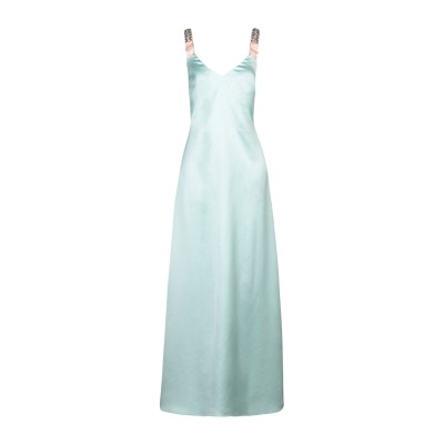 アレッサンドロデラクア ALESSANDRO DELL'ACQUA ロングワンピース&ドレス ライトグリーン 38 ポリエステル 100% ロングワ