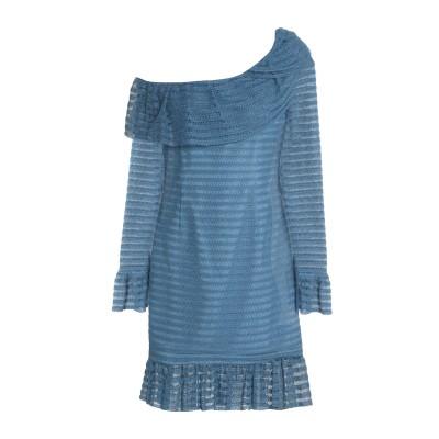 NICHOLAS ミニワンピース&ドレス ブルー 0 ポリエステル 85% / コットン 15% ミニワンピース&ドレス