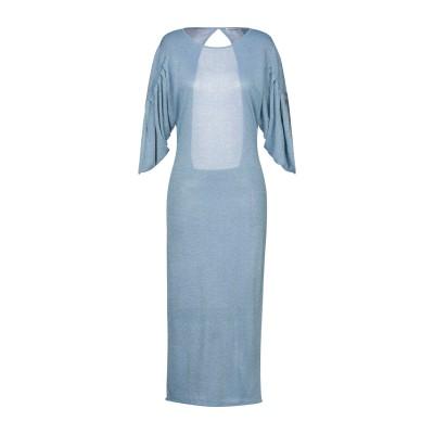 シルビアンヒーチ SILVIAN HEACH ロングワンピース&ドレス アジュールブルー XS レーヨン 65% / ナイロン 25% / 金属 1