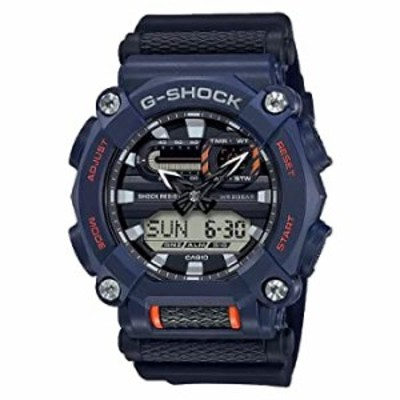 Men's Casio G-Shock Analog-Digital Blue Resin Watch GA900-2A