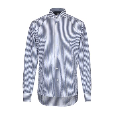 FRADI シャツ ブルー 42 コットン 100% シャツ