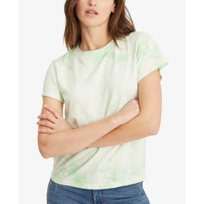 サンクチュアリー カットソー トップス レディース Perfect Tie-Dyed T-Shirt Pistachio Tie Dye