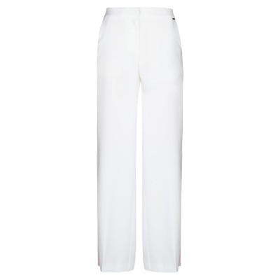LE COEUR TWINSET パンツ ホワイト XS ポリエステル 100% パンツ