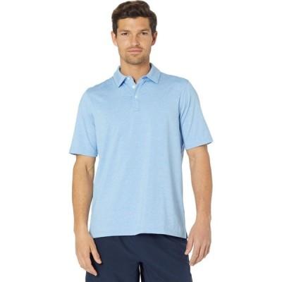 ジョンストン&マーフィー Johnston & Murphy メンズ ポロシャツ トップス XC4 Performance Polo Blue