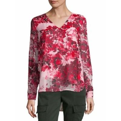 カルバンクライン レディース トップス シャツ Floral Blouse