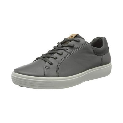 ECCO Men's Soft 7 Street Sneaker Dark Shadow/Magnet/Magnet 並行輸入品