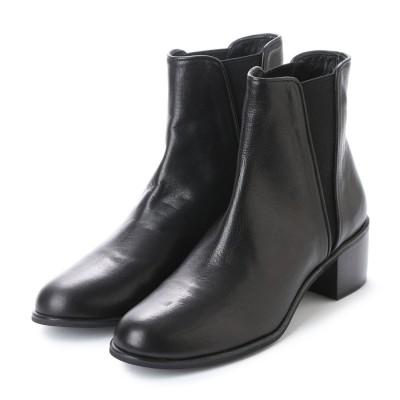 ツモリチサト ウォーク tsumori chisato WALK サイドゴアショートブーツ (ブラック)
