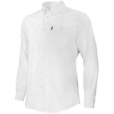 ベレッタ メンズ シャツ トップス PM Long-Sleeve Woven Oxford Shirt White