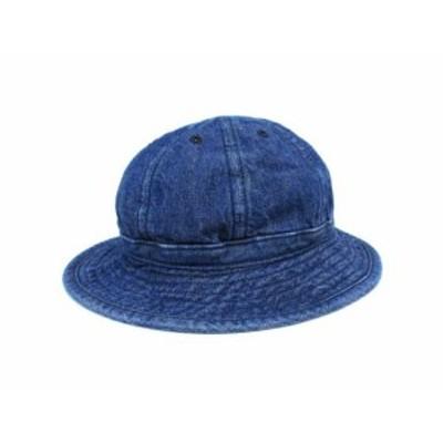 【中古】トロフィークロージング TROPHY CLOTHING デニム ハット アーミーハット Army Hat 帽子 インディゴ 7 1/4