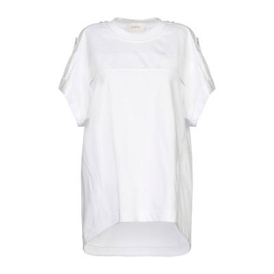 SPORTMAX T シャツ ホワイト L コットン 100% T シャツ
