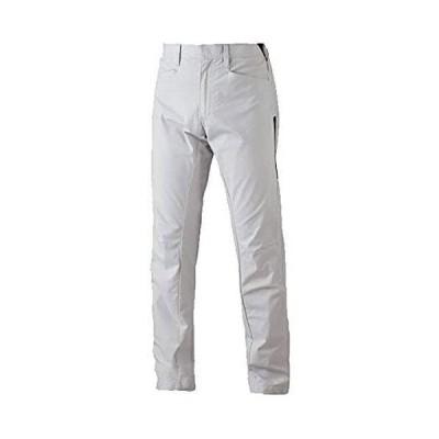 [シンメン] ストレッチライトパンツ 04802 作業ズボン 横ポケット付 細身 M 12:シルバーグレー