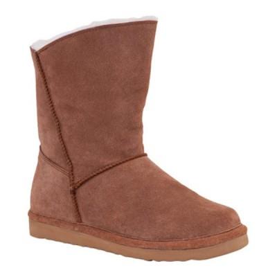 オールド・フレンド ブーツ&レインブーツ シューズ レディース Slip-On Boot (Women's) Chestnut Leather