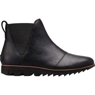 ソレル Sorel レディース ブーツ チェルシーブーツ シューズ・靴 Harlow Chelsea Boot Black