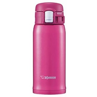 象印マホービン(ZOJIRUSHI) 水筒 ステンレス マグ ボトル 直飲み 軽量 保冷 保温 ワンタッチ オープン タイプ 軽量 コンパクト 360ml デ