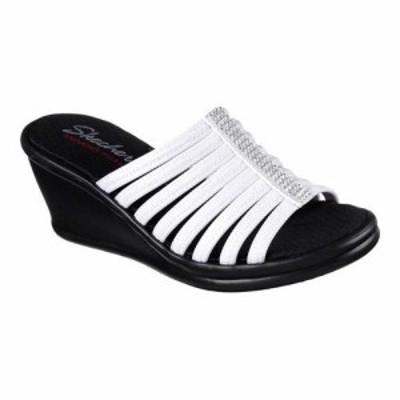 SKECHERS スケッチャーズ ファッション サンダル Skechers Womens  Rumblers Hotshot Wedge Slide