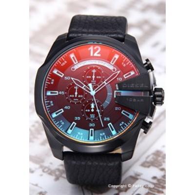 ディーゼル 時計 メンズ DIESEL 腕時計 DZ4323 メガチーフ クロノグラフ ブラックポラライザー