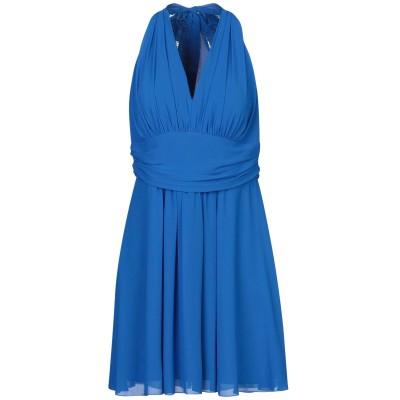ALLURE ミニワンピース&ドレス ブルー 12 ポリエステル 100% ミニワンピース&ドレス