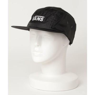 帽子 キャップ VANS ヴァンズ 120H1160100 VANS ripstop camp cap BLACK