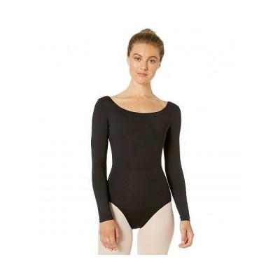 Bloch ブロック レディース 女性用 ファッション トップス Long Sleeve Leotard - Black